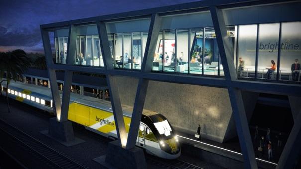Línea de tren de alta velocidad que conecta Orlando, West Palm Beach, Fort Lauderdale y Miam